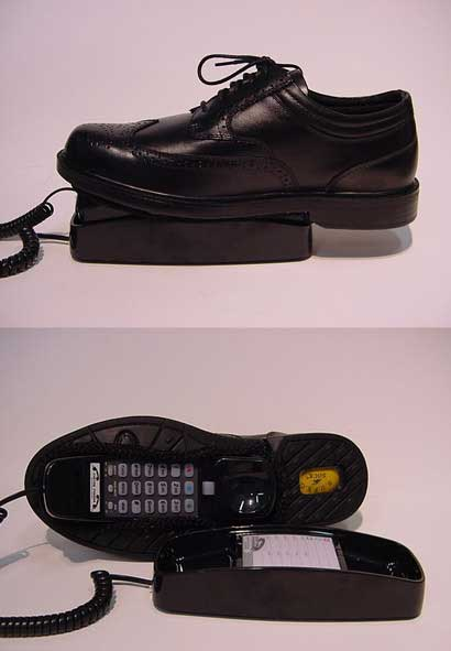 The Shoe Phone