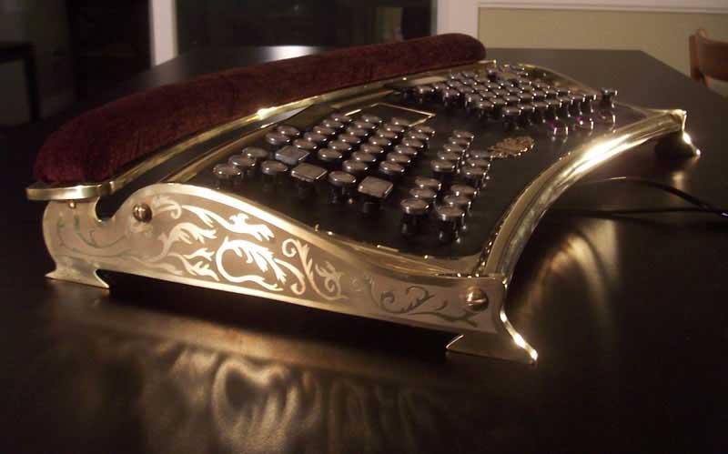 ergonomic_steampunk_keyboard
