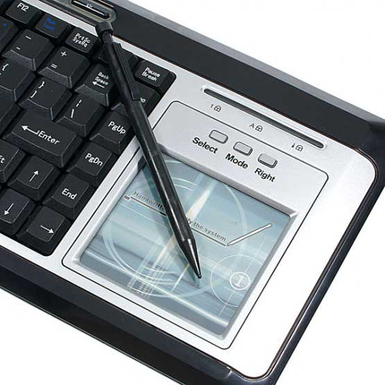 Handwriting Recognition Cool Keyboard