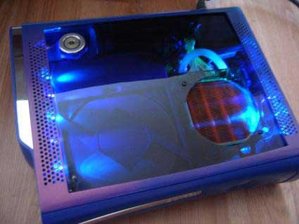 water cooling xbox 360 case mod