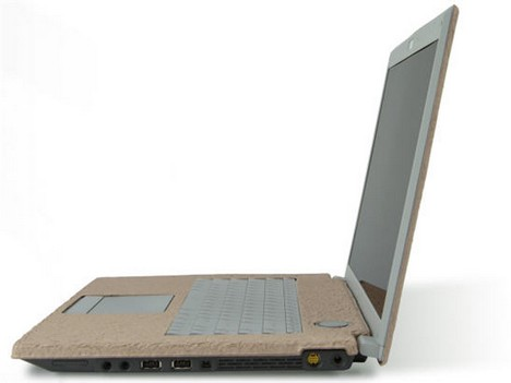 ASUS Ecobook made of bamboo