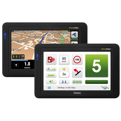 EcoNav - Eco Friendly GPS System for Cars
