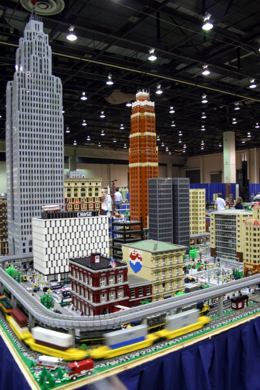 Lego Downtown Detroit