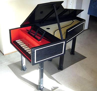 Lego Harpsichord