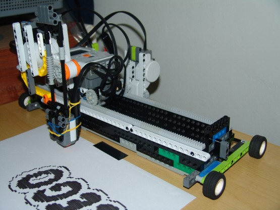 Lego Bluetooth Printer
