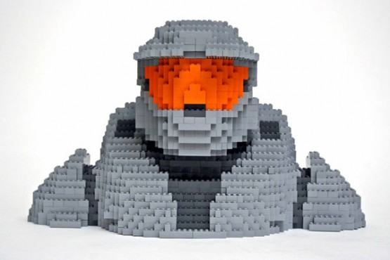 Master Chief Lego Creation