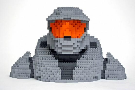 Master Chief Lego Creation
