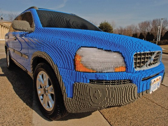Volvo XC90 Lego Creation
