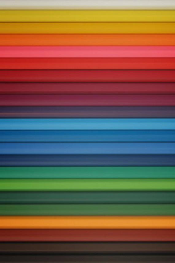 colorful band retina