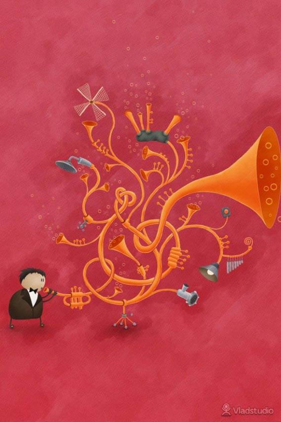 Musical Wallpaper HD
