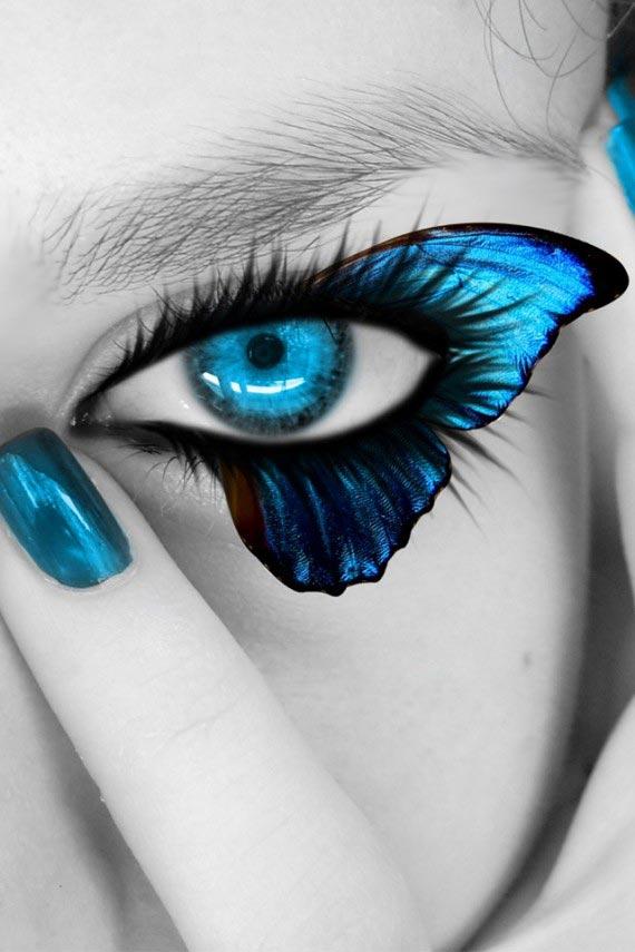 Blue Eyes Retina
