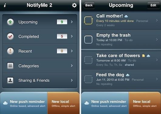 notify Me