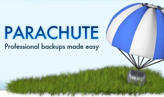 parachute backup app