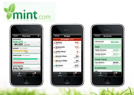 mint dot com iphone app