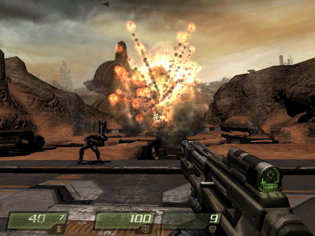 Fantastic Games for Apple Mac OS X Quake 4 Monsters