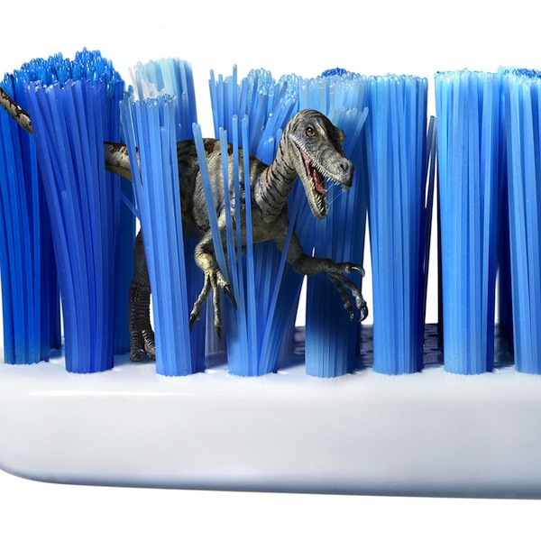 Fresh toothbrush