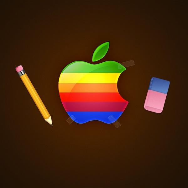 apple retro
