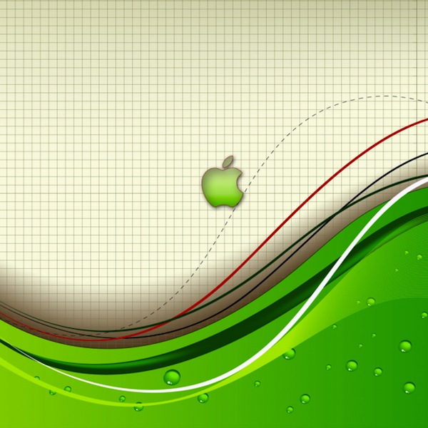 apple abstract wallpaper