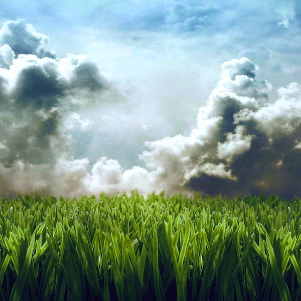 cloudy Nature Wallpaper