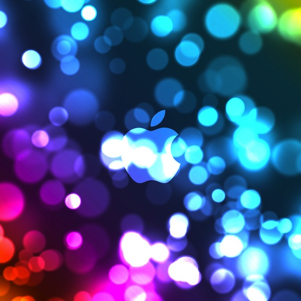 iPad Bokeh Wallpaper by DezShearer