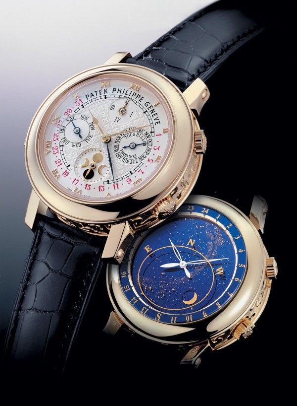 patek sky moon watch