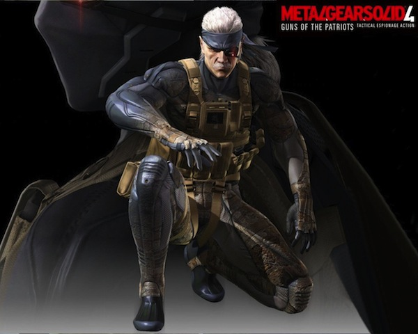 Metal Gear Solid 4 Guns of Patriots