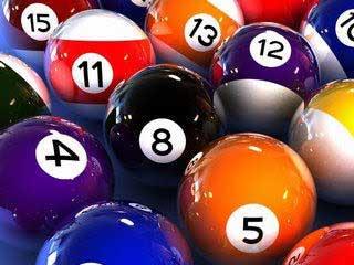 W-Pool Balls