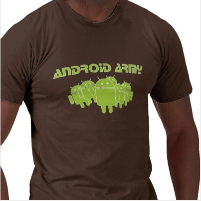 Android Army T Shirt