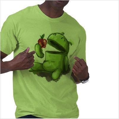 Hungry Android T Shirt