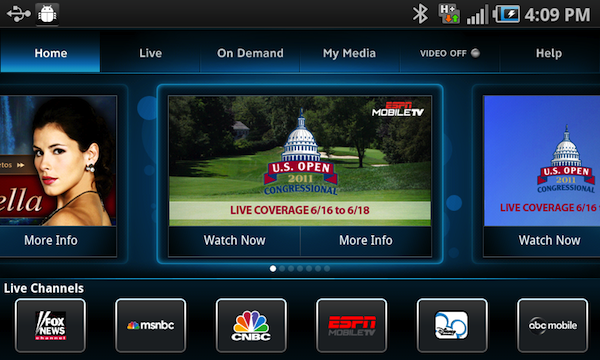 AT-T U-Verse Live Android TV