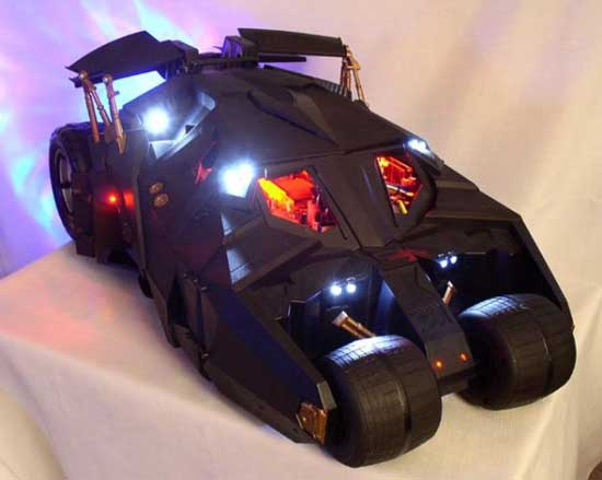 Batmobile PC Case Computer Mod