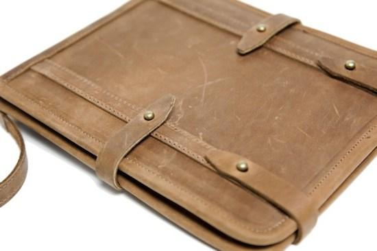 Crazy On iPad Leather Case