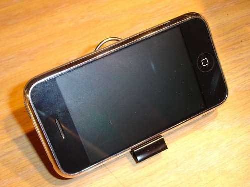 DIY Binder Clip iPhone Stand