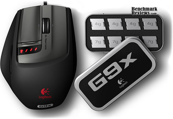 Logitech G9x Gaming Mouse