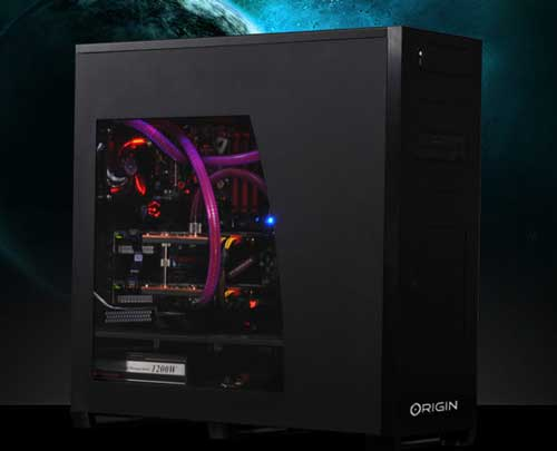 gaming desktop computer Origin Genesis