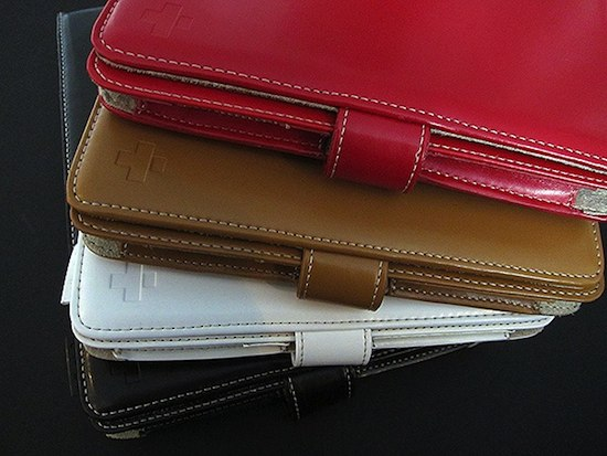 Simplism Shoulder iPad Leather Case