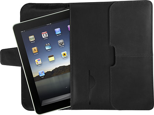 Targus Hughes Leather Portfolio Slipcase iPad Case