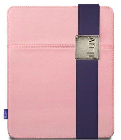 iLuv Fabric Pink iPad Case