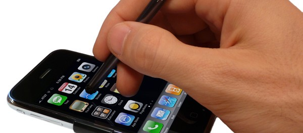 Make your Own iPhone Stylus or Buy One