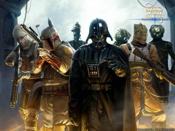 Galaxy's Bounty Hunters with Vader
