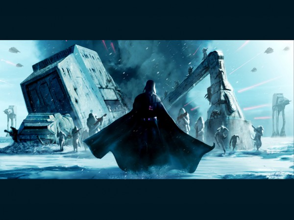 Vader on Hoth