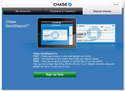 Chase Mobile iPad App