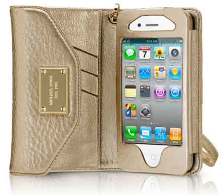 Michael Kors Essential Zip Wallet iPhone 4s