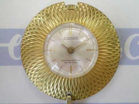 Slim Vintage Pendant Strapless Watch