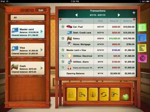 Checkbook iPad App