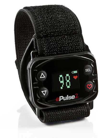 ePulse2 Men's Strapless Heart Rate Watch