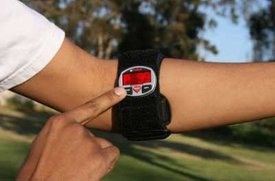Impact Unisex Sports ePulse Strapless Heart Rate Watch