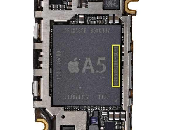 iPhone 4s Processor