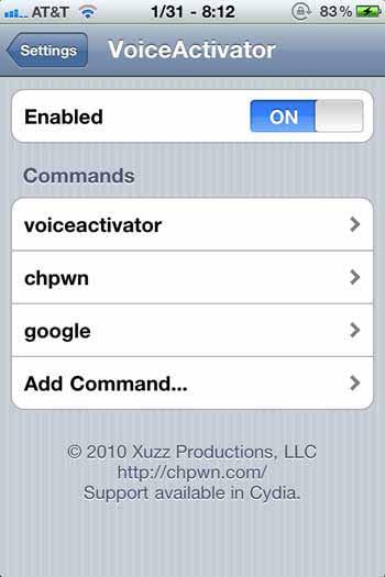 Voice Activator