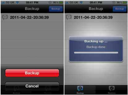 xBackup App